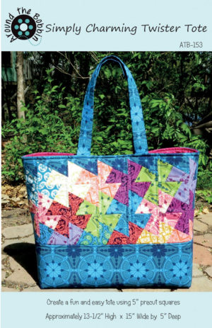 Simply Charming Tote bag pattern