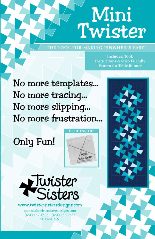Mini Twister Tool for quilting