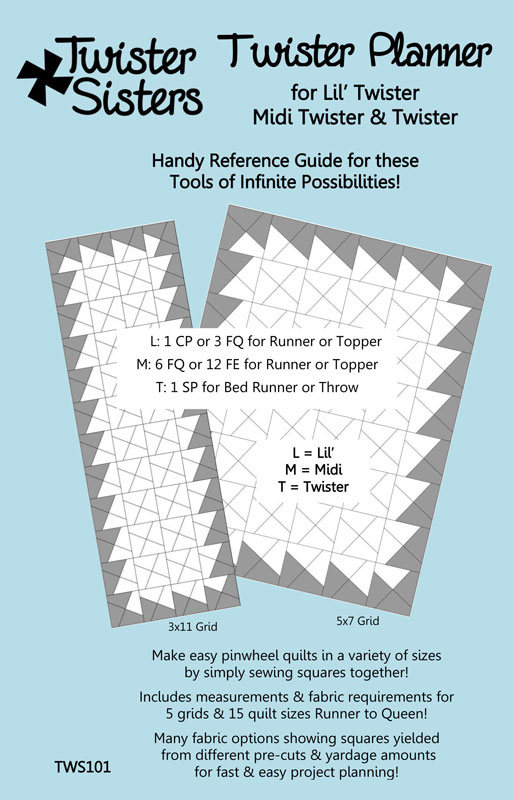 Twister Planner for quilters