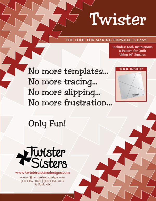 Twister Tool for quilters