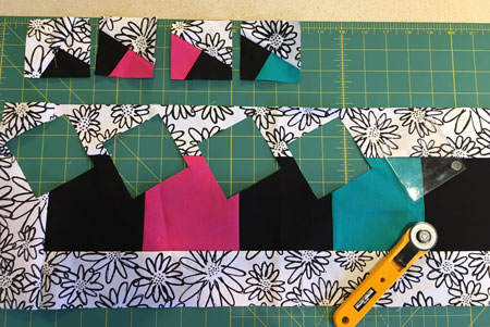 Frame & Twist Pattern and Lettered Quilt Kit Giveaway – Twister Sisters